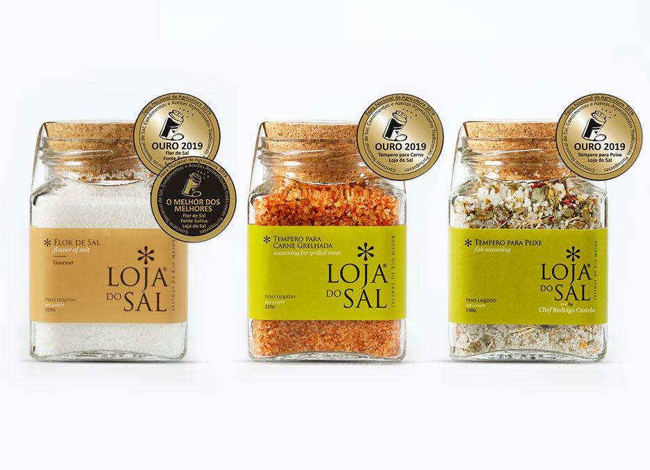 Loja do Sal premiada no Concurso Nacional de Sal e de Condimentos, Tradicionais Portugueses na Feira Nacional da Agricultura