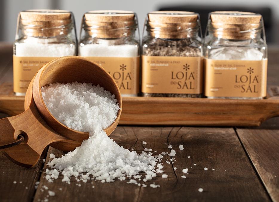 Sal Fonte de Salina Loja do Sal